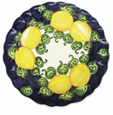 "Skyros Designs Mediterranean Dinner Plate 12.5"" - Blue Lemon"