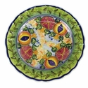 "Skyros Designs Mediterranean Dinner Plate 12.5"" - Pomegranate"