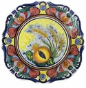 "Skyros Designs Mediterranean Square Dinner Plate 10.75"" x 10.75"" - Wheat"