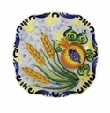 "Skyros Designs Mediterranean Square Salad Plate 7"" x 7"" - Wheat"