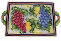 "Skyros Designs Mediterranean Large Handled Tray 16.5"" x 10.75"" - Fruit"
