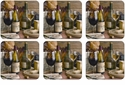 Pimpernel Artisanal Wine Coasters Set of 6