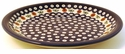 "Boleslawiec Polish Pottery 9 1/2"" Luncheon Plate - Design 41A"