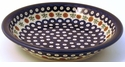 "Boleslawiec Polish Pottery 9"" Dinner Bowl - Design 41A"