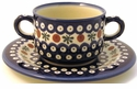 Boleslawiec Polish Pottery Consomm� Bowl - Design 41A
