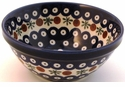 Boleslawiec Polish Pottery Soup or Cereal Bowl - Design 41A
