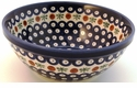 Boleslawiec Polish Pottery Medium Serving Bowl - Design 41A