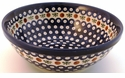 Boleslawiec Polish Pottery Large Serving Bowl - Design 41A