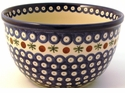 Boleslawiec Polish Pottery 2 Qt Bowl - Design 41A