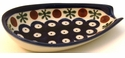 Boleslawiec Polish Pottery Spoon Rest - Design 41A