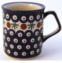 Boleslawiec Polish Pottery Coffee Mug - Design 41A