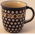 Boleslawiec Polish Pottery 12 oz Mug - Design 41A