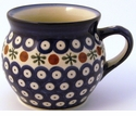 Boleslawiec Polish Pottery 16 oz Mug - Design 41A