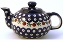 Boleslawiec Polish Pottery Small Teapot - Design 41A