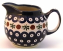 Boleslawiec Polish Pottery Creamer Pitcher - Design 41A