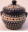 Boleslawiec Polish Pottery Medium Canister - Design 41A