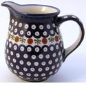 Boleslawiec Polish Pottery Medium Pitcher - Design 41A