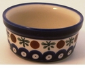 Boleslawiec Polish Pottery 4 oz Ramekin - Design 41A