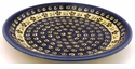 "Boleslawiec Polish Pottery 9 1/2"" Luncheon Plate - Design 175A"