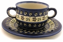 Boleslawiec Polish Pottery Consomm� Bowl - Design 175A