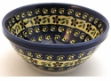 Boleslawiec Polish Pottery Soup or Cereal Bowl - Design 175A