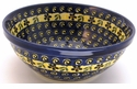 Boleslawiec Polish Pottery Medium Serving Bowl - Design 175A