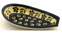 Boleslawiec Polish Pottery Spoon Rest - Design 175A