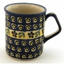 Boleslawiec Polish Pottery Coffee Mug - Design 175A