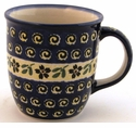 Boleslawiec Polish Pottery 12 oz Mug - Design 175A