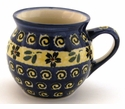 Boleslawiec Polish Pottery 16 oz Mug - Design 175A