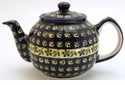 Boleslawiec Polish Pottery Large Teapot - Design 175A
