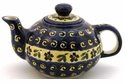 Boleslawiec Polish Pottery Small Teapot - Design 175A