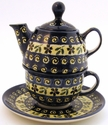 Boleslawiec Polish Pottery Tea for One Teapot - Design 175A
