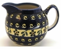 Boleslawiec Polish Pottery Creamer Pitcher - Design 175A