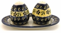 Boleslawiec Polish Pottery Salt & Pepper Set - Design 175A