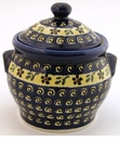 Boleslawiec Polish Pottery Medium Canister - Design 175A