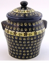 Boleslawiec Polish Pottery Large Canister - Design 175A