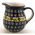Boleslawiec Polish Pottery Small Pitcher - Design 175A
