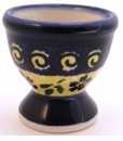 Boleslawiec Polish Pottery Egg Cup - Design 175A