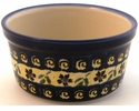 Boleslawiec Polish Pottery Large Ramekin - Design 175A