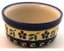 Boleslawiec Polish Pottery 4 oz Ramekin - Design 175A