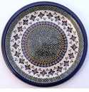 Boleslawiec Polish Pottery Dinner Plate - Design DU60