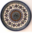 Boleslawiec Polish Pottery Salad or Dessert Plate - Design DU60