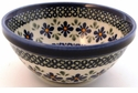 Boleslawiec Polish Pottery Soup or Cereal Bowl - Design DU60