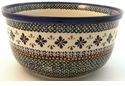 Boleslawiec Polish Pottery Kitchen Mixing Bowl - Design DU60