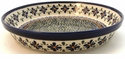 Boleslawiec Polish Pottery Pie Plate - Design DU60