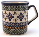 Boleslawiec Polish Pottery Coffee Mug - Design DU60