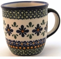 Boleslawiec Polish Pottery 12 oz Mug - Design DU60