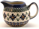 Boleslawiec Polish Pottery Creamer Pitcher - Design DU60