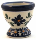 Boleslawiec Polish Pottery Egg Cup - Design DU60